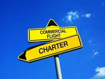 Are Charter Flights More Cost Effective Than Commercial Flights?