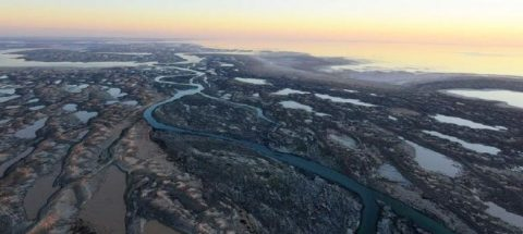 Lake Eyre Flood - A View From The Sky   Adagold Aviation   Australia