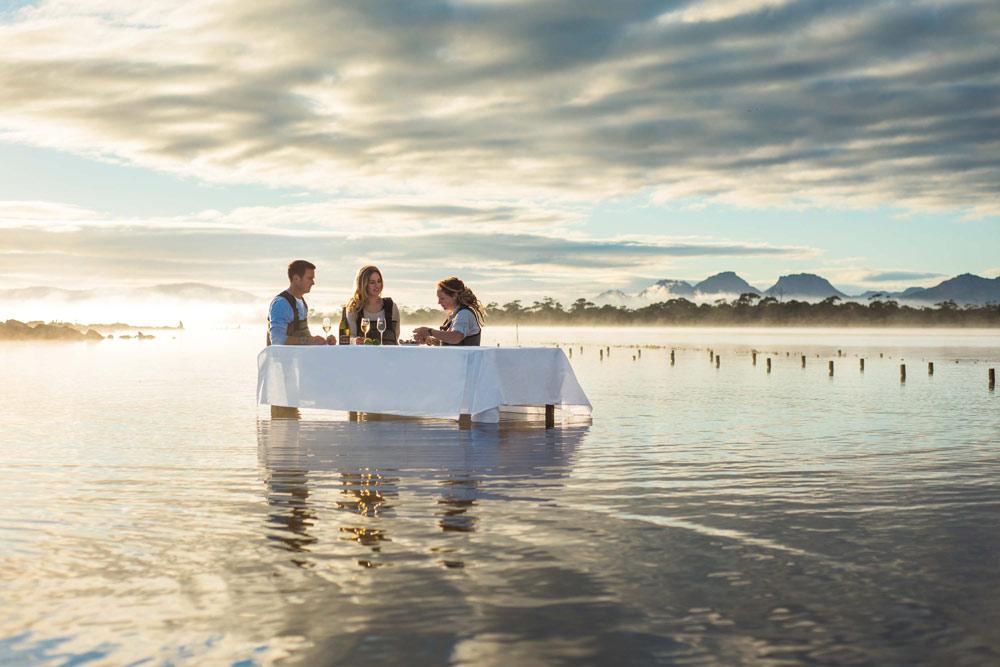 Tasmania and south australia itinerary Southern Ocean Lodge mona Saffire Freycinet oyster farm Barossa Valley