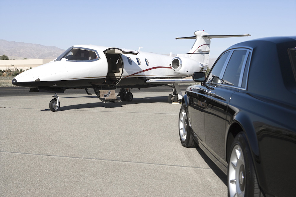Taking a private jet to the Formula One with Adagold Luxe