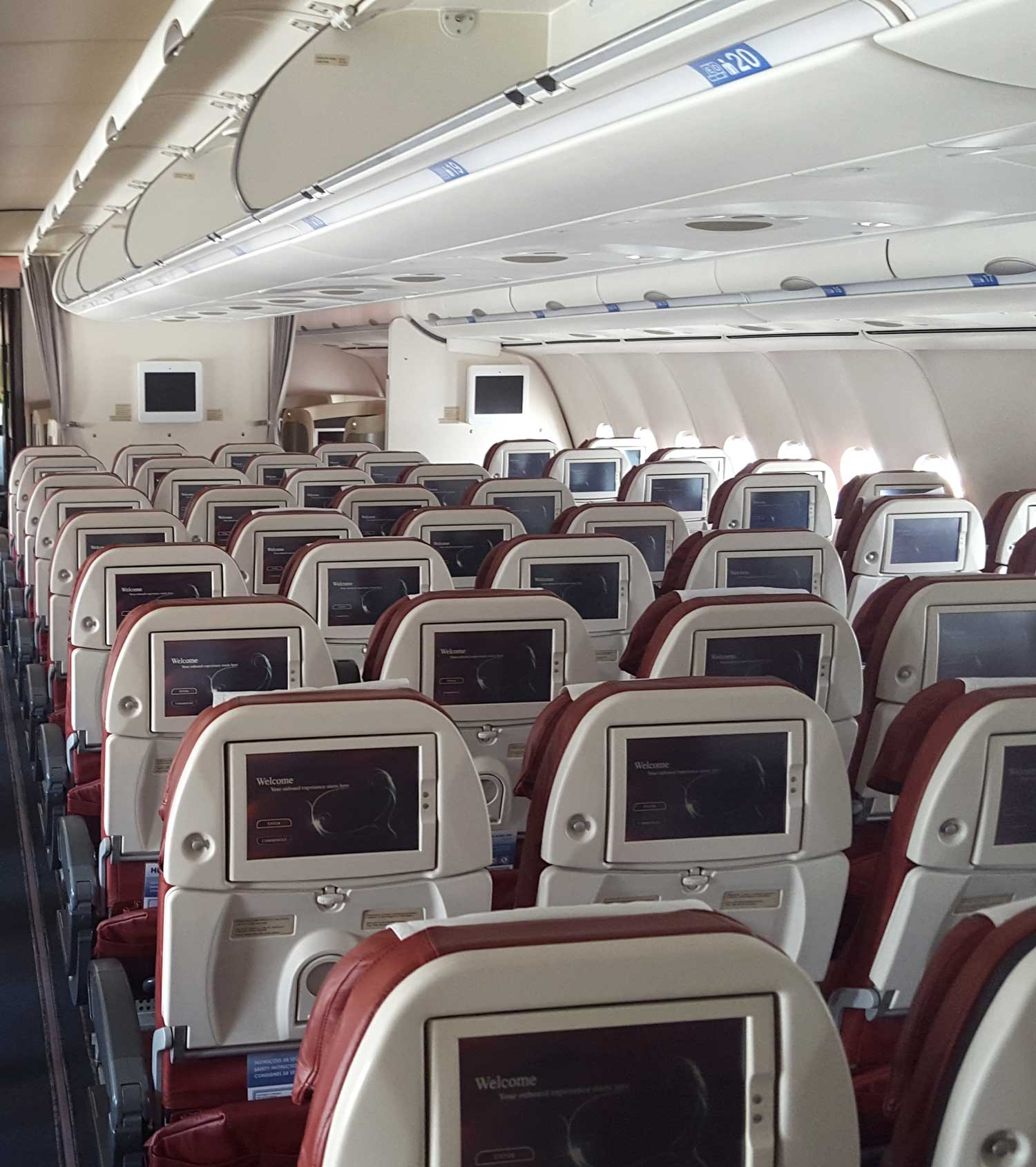 Teams and Groups Plane Interior