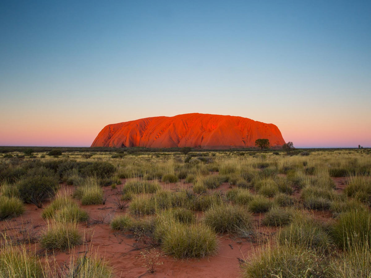 Flying to Uluru by Private Jet