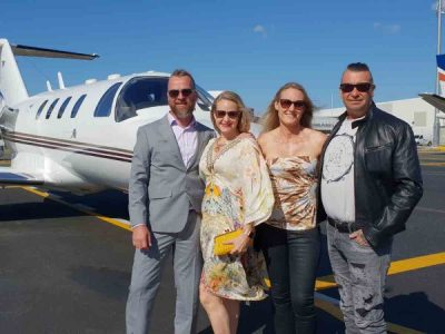 Take a private jet wine tour of the Hunter Valley