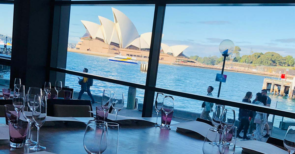 Lunch At Park Hyatt Sydney | Luxury superyacht and private jet experience | Adagold Aviation | Private Charters Australia | Private Jet Charter | Superyacht | Aviation Charter