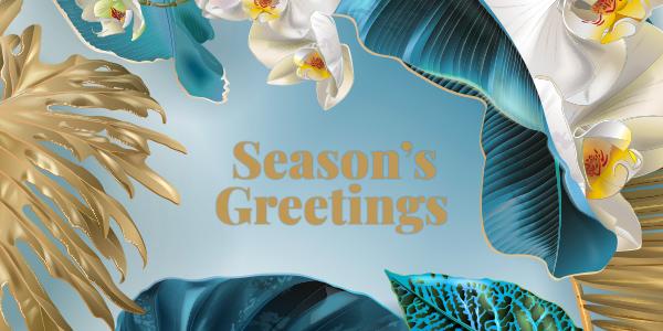 Season's Greetings Adagold Graphic