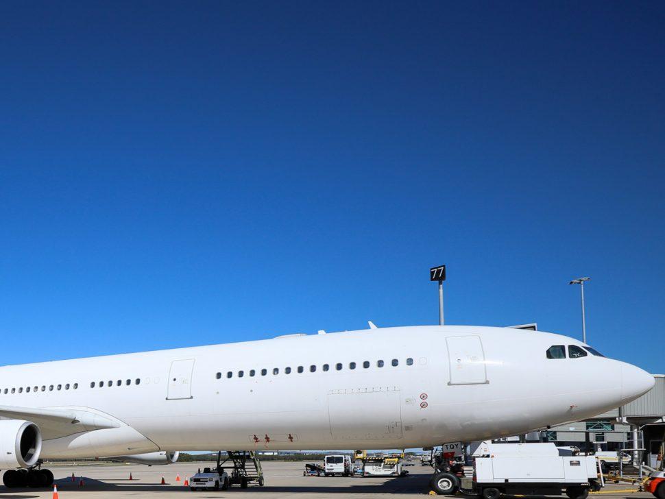 Large Private Jet