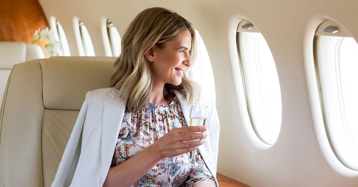 adagold private jet comfort