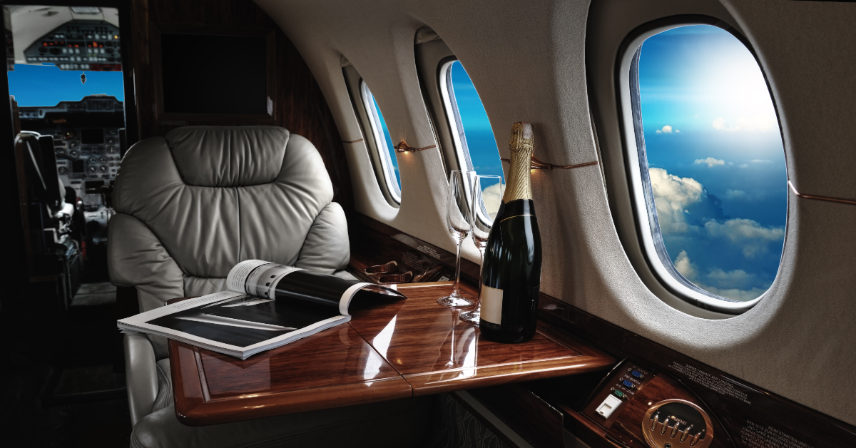"alt=""On-demand private jet charters has many benefits"""